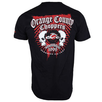 t-shirt uomo - Two Skulls - ORANGE COUNTY CHOPPERS, ORANGE COUNTY CHOPPERS