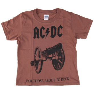 t-shirt metal uomo bambino AC-DC - For Those About To Rock - LOW FREQUENCY