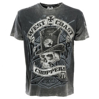 t-shirt uomo - WCC CASH ONLY - West Coast Choppers, West Coast Choppers