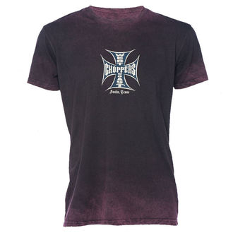 t-shirt uomo - VINTAGE IRON CROSS - West Coast Choppers, West Coast Choppers