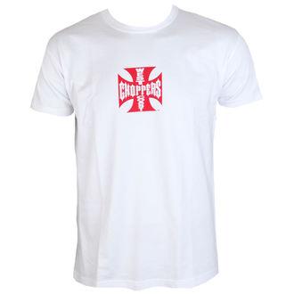 t-shirt uomo - WCC IRON CROSS - West Coast Choppers, West Coast Choppers