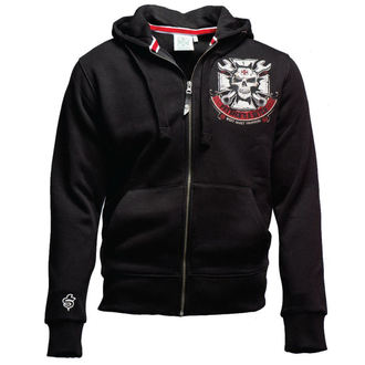 felpa con capuccio uomo - MECHANIC ZIP HOODY - West Coast Choppers, West Coast Choppers
