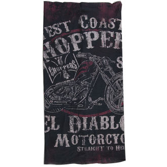 fazzoletto West Coast Choppers - EL DIABLO - NERO, West Coast Choppers