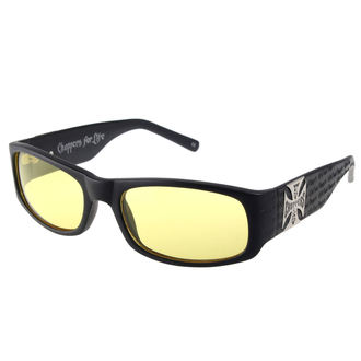 Bicchieri West Coast Choppers - WCC GANGSCRIPT - MATTE NERO GIALLO, West Coast Choppers