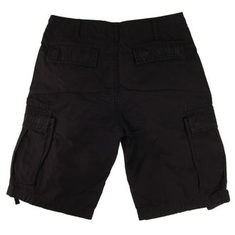 Pantaloncini uomo West Coast Choppers - WCC RIDE LIKE SATAN BDU - NERO, West Coast Choppers