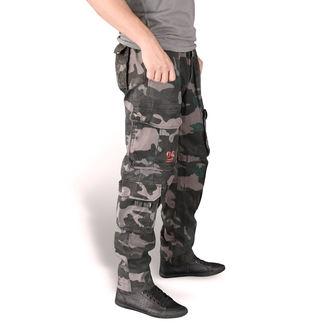 Pantaloni uomo SURPLUS - AIRBORNE SLIMMY - NERO CAMO - 05-3603-42