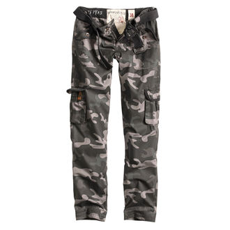 Pantaloni da donna SURPLUS - PREMIUM SLIMMY - NERO CAMO, SURPLUS