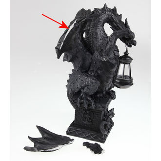 decorazione black dragon light, Nemesis now