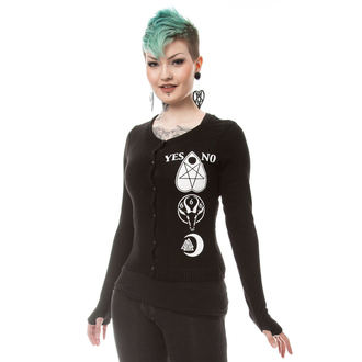 maglione da donna HEARTLESS - HEAVEN - NERO, HEARTLESS