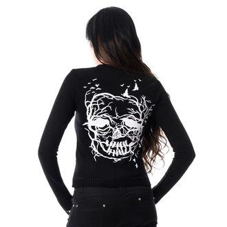 maglione da donna VIXXSIN - SKULL CROW - NERO, VIXXSIN
