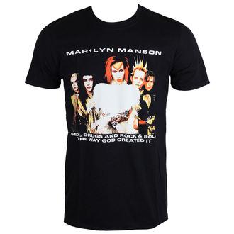 t-shirt metal uomo Marilyn Manson - Rock Is Dead - ROCK OFF, ROCK OFF, Marilyn Manson