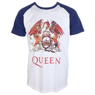 t-shirt metal uomo Queen - Classic Crest - ROCK OFF, ROCK OFF, Queen