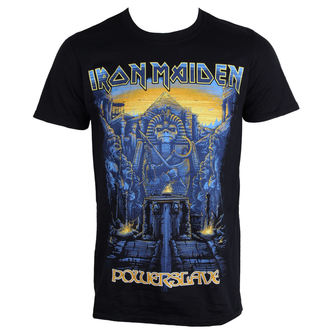 t-shirt metal uomo Iron Maiden - Dark Ink Powerslaves - ROCK OFF, ROCK OFF, Iron Maiden