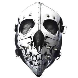 Maschera POIZEN INDUSTRIES - SKULL FACE - NERO, POIZEN INDUSTRIES