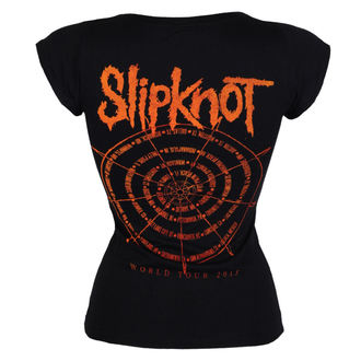 tričko dámské Slipknot - The wheel - ROCK OFF, ROCK OFF, Slipknot