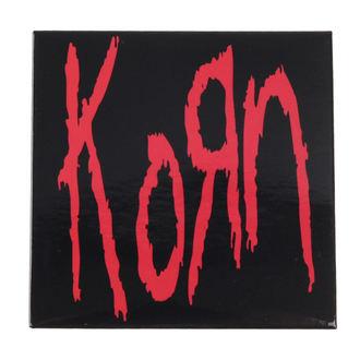 Magnete Korn - Logo - ROCK OFF, ROCK OFF, Korn
