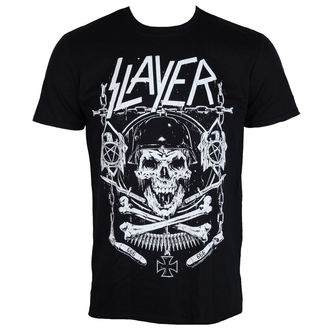 t-shirt metal uomo Slayer - Skull & Bones - ROCK OFF, ROCK OFF, Slayer