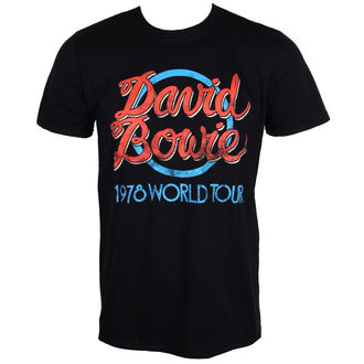 t-shirt metal uomo David Bowie - 1978 World Tour - ROCK OFF, ROCK OFF, David Bowie