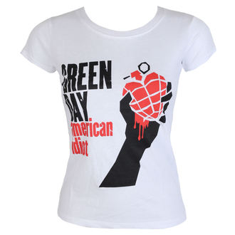 t-shirt metal donna Green Day - American Idiot - ROCK OFF, ROCK OFF, Green Day