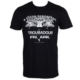 t-shirt metal uomo Guns N' Roses - Troubadour - ROCK OFF, ROCK OFF, Guns N' Roses