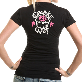 t-shirt donna - PONY MUERTE - CUPCAKE CULT, CUPCAKE CULT