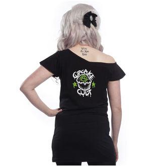 t-shirt donna - VOODOO DRAGON OFF SHOULDER - CUPCAKE CULT, CUPCAKE CULT