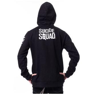felpa con capuccio uomo Suicide Squad - GRIN Black - NNM, NNM, Suicide Squad