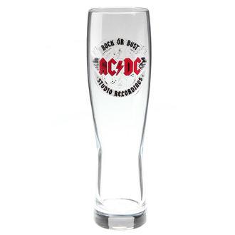 bicchiere di vetro   AC  /  DC  - Rock or Bust - F.B.I., F.B.I., AC-DC