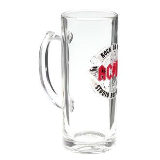 bicchiere da birra in vetro  AC  /  DC  - Rock or Bust - F.B.I., F.B.I., AC-DC