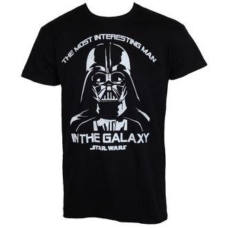 maglietta uomini Star Wars - The Most Interesting Man In The Galaxy - Nero - HYBRIS, HYBRIS, Star Wars