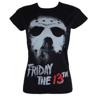 t-shirt film donna Friday the 13th - Black - HYBRIS, HYBRIS, Friday the 13th