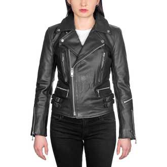 giacca di pelle donna - Defector Blk Nick - STRAIGHT TO HELL, STRAIGHT TO HELL