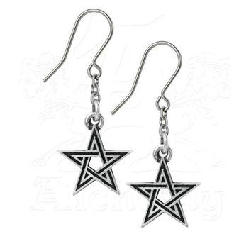 orecchini ALCHEMY GOTHIC - Black Star, ALCHEMY GOTHIC