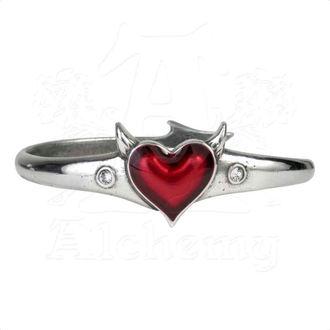 braccialetto ALCHEMY GOTHIC - Devil Heart, ALCHEMY GOTHIC