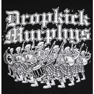 t-shirt metal uomo Dropkick Murphys - Marching - KINGS ROAD, KINGS ROAD, Dropkick Murphys