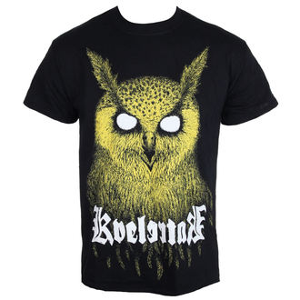 t-shirt metal uomo Kvelertak - Barlett Owl Yellow - KINGS ROAD
