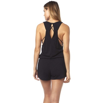 tuta FOX - Refraction Romper- Black, FOX