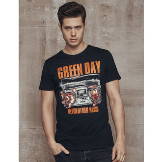 t-shirt metal uomo Green Day - Radio - URBAN CLASSICS, URBAN CLASSICS, Green Day