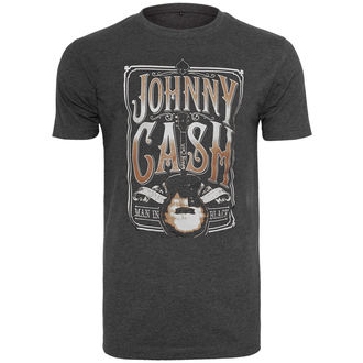 t-shirt metal uomo Johnny Cash - Man In Black - URBAN CLASSICS, URBAN CLASSICS, Johnny Cash