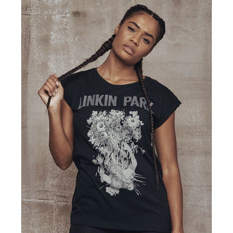 t-shirt metal donna Linkin Park - Eye Guts - URBAN CLASSICS, URBAN CLASSICS, Linkin Park