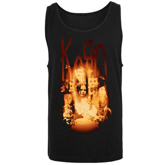 Superiore uomini Korn - Face in the Fire, URBAN CLASSICS, Korn