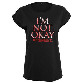 t-shirt metal donna My Chemical Romance - I'M NOT OK - URBAN CLASSICS, URBAN CLASSICS, My Chemical Romance