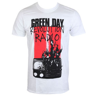 t-shirt metal uomo Green Day - RADIO COMBUSTION - PLASTIC HEAD, PLASTIC HEAD, Green Day