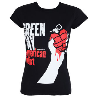 t-shirt metal donna Green Day - AMERICAN IDIOT - PLASTIC HEAD, PLASTIC HEAD, Green Day