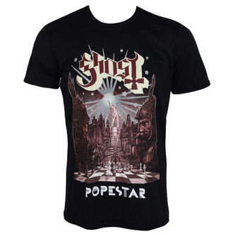 t-shirt metal uomo Ghost - POPESTAR - PLASTIC HEAD, PLASTIC HEAD, Ghost