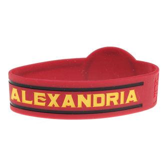 Gomma da cancellare Braccialetto ASKING ALEXANDRIA - DIE CUT CIRCLE LOGO - PLASTIC HEAD, PLASTIC HEAD, Asking Alexandria