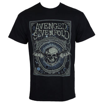 t-shirt metal uomo Avenged Sevenfold - ORNATE DEATH BAT - PLASTIC HEAD, PLASTIC HEAD, Avenged Sevenfold