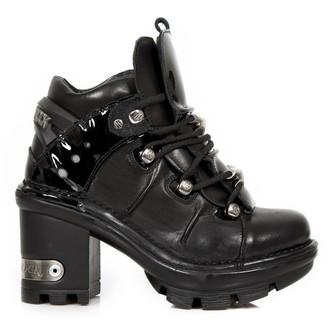 scarpe con il tacco donna - CRUST NEGRO CHAROL NEGRO NEOTYRE - NEW ROCK, NEW ROCK