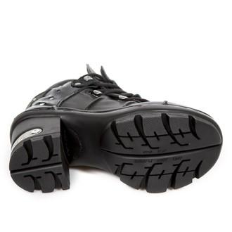 scarpe con il tacco donna - CRUST NEGRO CHAROL NEGRO NEOTYRE - NEW ROCK