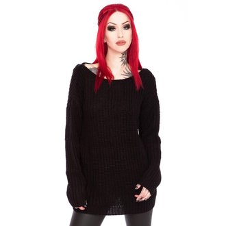 Maglione da donna KILLSTAR - Sinthya Knit - Nero, KILLSTAR